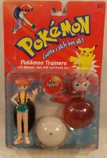 Pokemon Trainers Misty Figure With Jigglypuff  By Hasbro (MOC)
