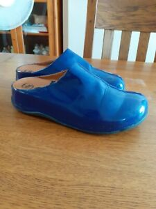 Fitflop Blue Mules Size 7