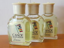 ( Lot Of 3) Vintage Canoe By Dana Cologne Men 15 ML/ 1/2 FL.OZ Eau De Cologne