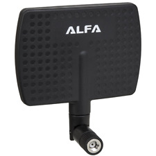 Alfa 2.4HGz 7dBi RP-SMA Panel Screw-On Swivel Antenna for Alfa - WUS036H