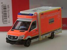 """Herpa Mercedes Sprinter Fahrtec-RTW """"Feuerwehr Düsseldorf"""" - 094627 - 1:87"""
