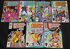 Marvel Copper-Modern SQUADRON SUPRME 14pc Count Mid-High Grade Comic Lot VF-NM