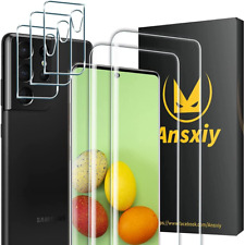 More details for (5 pack) for samsung galaxy s21 ultra-transparent(5