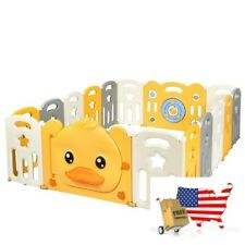 Baby Gear Playpens And Play Yards 16 Panel Foldable Baby Playpen With Sound
