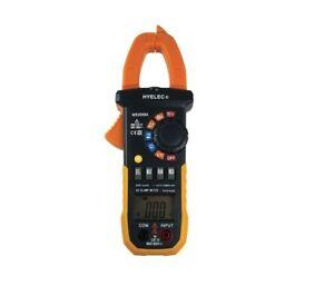 MS2008A Digital AC Clamp Meter designed to CE, IEC-61010, CAT.III 600V, RoHS