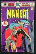 MAN-BAT #1 (1976) DC Comics VG