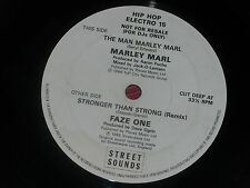 """Marley Marl / Faze One:  Rare Street Sounds   DJ   7""""   EX+"""