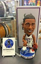 Milwaukee Bucks Ray Allen Limited Edition Pepsi White Jersey Bobblehead NIB