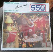 Sealed! Bud Light Spuds Mackenzie New in Box 550 Piece Jigsaw Puzzle 1987