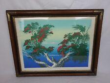 "Harold Coop New Zealand Artist ~ ""Northern Summer"" ~ Signed Serigraph 62/180 ~"