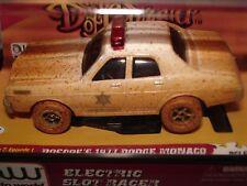 AUTO WORLD ~ '77 Roscoe's MONACO POLICE CAR ~ DUKES OF HAZZARDS ~ FITS AFX, AW