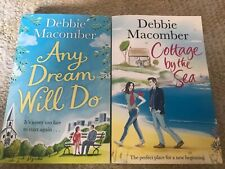 2x paperback books, Debbie Macomber Any Dream Will Do And Cottage By The Sea