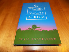 TRACKS ACROSS AFRICA Safari Hunting Africa Big-Game Hunt Gun Hunter Book NEW