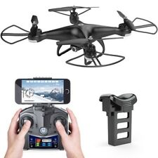]HS110D FPV RC Drone with 720P HD Camera Live Video 120° Wide-angle wifi