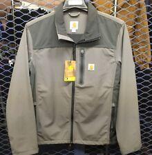 Carhartt Mens Small Denwood Soft Shell Jacket in Gray NWT