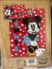 🎁DISNEY MINNIE MOUSE DUVET COVER SET SINGLE BED 'Cute' Series EXCLUSIVE