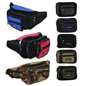 8 Fächer Outdoor Bauchtasche robuste Gürteltasche Hüfttasche Angeltasche Tasche