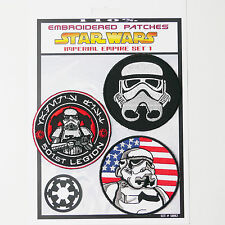 "STAR WARS ""Imperial Stormtrooper"" Iron-On Patch Super Set #002 - FREE POSTAGE!"
