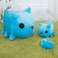 Bugcat Capoo Cosplay Blue Cat Toy Stuffed Plush Pillow Cartoon Doll Cushion Gift