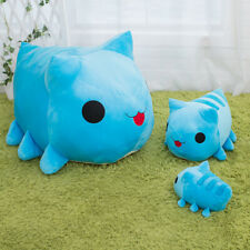 Bugcat Capoo Cosplay Blue Cat Toy Stuffed Plush Pillow Cartoon Doll Cushion Gift