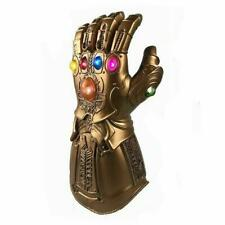 Infinity Gauntlet The Avengers 3 LED Thanos Glove in Gold Battery Included