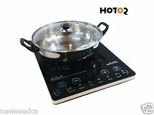 Hotor 1500-Watt Ultra-thin Induction Cooker Cooktop with Stainless Steel Pot