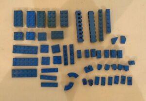 Lego Spare parts mix lot Blue - set of 51