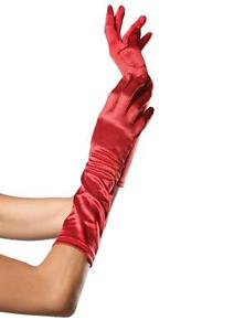 Sexy Womens Satin Elbow Length Gloves Wedding Bridal Evening Formal Prom Costume