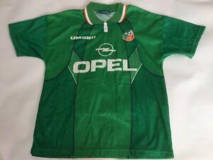 Adult Genuine Rare Umbro Republic Of Ireland Home Football Shirt Jersey Medium