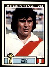 Panini Argentina 78 - Hugo Sotil Peru No. 309