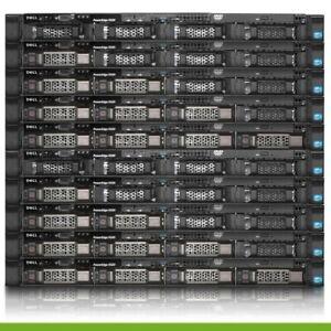 Dell PowerEdge R320 Server 1x E5-2407 V2 2.4GHz Quad Core 48GB H710 2x trays