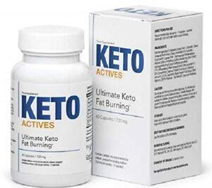 Keto Actives 60 capsule - Originale direttamente dal produttore - original BOX !