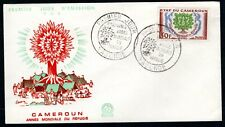 Cameroon - 1960 International Refugee Year First Day Cover
