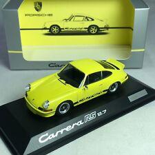 1/43 Minichamps Porsche 911 Carrera RS 2.7 Yellow WAP0201420J
