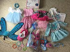 PRINCESS DRESS UP Mix Disney Pretend Costume Lot Girls Sz 12m 2t 3t Gown