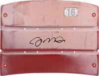 Joe Montana San Francisco 49ers Signed Authentic Seatback from Candlestick Park