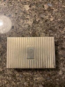 Vintage Elgin Sterling Silver Cigarette Case Made in USA
