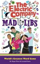 The Electric Company Mad Libs (Paperback) Brand New Book, Free Shipping