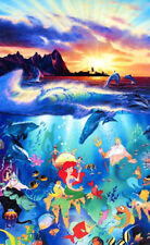 Authentic Signed Fine Disney Giclee Art Christian Riese Lassen limited edition