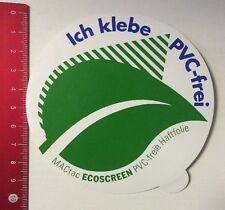 Aufkleber/Sticker: MACtac Ecoscreen - Ich Klebe PVC-Frei (18041629)