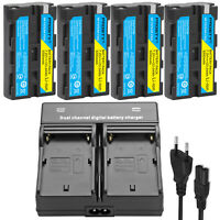 NP-F330 NP-F550 Battery & Charger for Sony NP-F570 NP-F750 NP-F960 F970 F770 ao