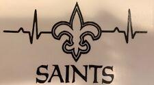 NFL New Orleans Saints Life car decal  Vinyl Sticker YOU PICK COLOR