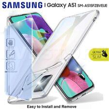 CUSTODIA per SAMSUNG Galaxy A51 Cover TPU + Pellicola VETRO Temperato Protezione