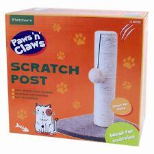 Activity Corner Cat Scratching Post Pole Activity Catnip Play Climbing Sisal