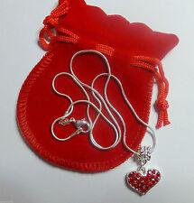Modeschmuck-Halsketten & -Anhänger aus gemischten Metallen mit Herz-Schliffform