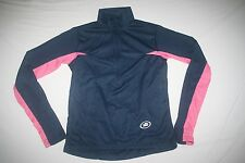 Performance Cycling Biking L/S 1/2 Zip Jersey Women M Blue NEW