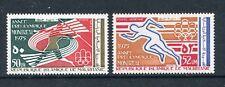 Mauritania C154-C155, MNH, Pre-Olympic Year Sport Javelin 1975. x29735