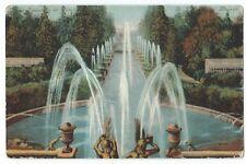 Vintage Postcard Grand Samson Fountain, St. Petersburg, Russia