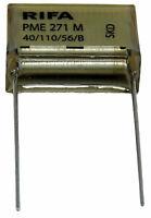 1 condensateur RIFA PME 271 M X2 0,15µF 0.15µF 150nF 150n 275V 20.3mm SH 250V MP