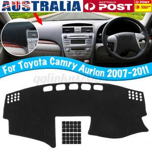 For Toyota Camry Aurion 2007-2011 Dashboard Sun Cover Dashmat Dash Mat Pad Shade
